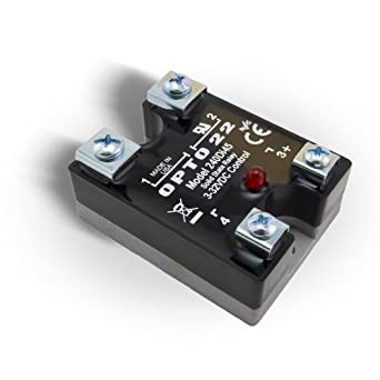 opto 22 240di45 dc control solid state relay with led. Black Bedroom Furniture Sets. Home Design Ideas