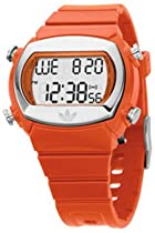 Adidas Candy Collection Orange Polyurethane Strap Mirrored Dial Unisex Watch #ADH6014