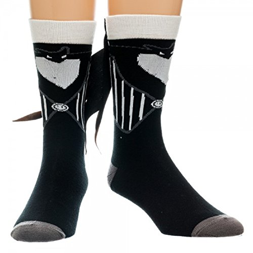 Nightmare Before Christmas Costume Crew Sock with Tux Tails