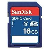 SanDisk SDHCメモリーカード(海外リテール品) 16GB CLASS4 SDSDB-016G-P36