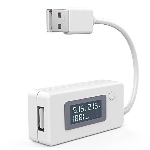 muker kcx17 usb digitale amperemeter digitale voltmeters leistungsmesser f r stromst rke. Black Bedroom Furniture Sets. Home Design Ideas