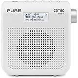 Pure VL-61879 One Mini II Tragbares Kompakt-Radio (LC-Display, DAB/DAB+/UKW mit RDS, 1,6 Watt, USB) weiß