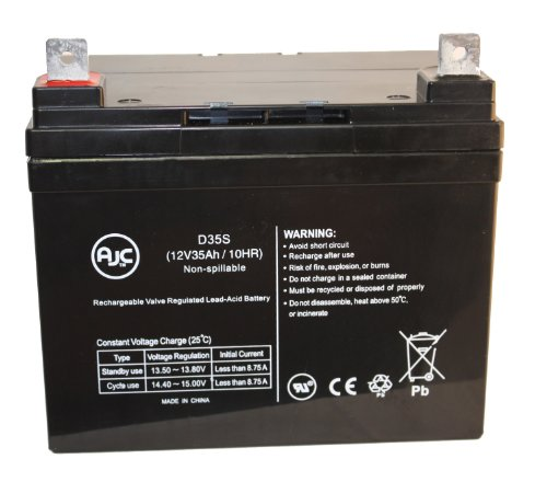 Leisure Lift Plus Iii Series 12V 35Ah Wheelchair Battery - This Is An Ajc Brand™ Replacement