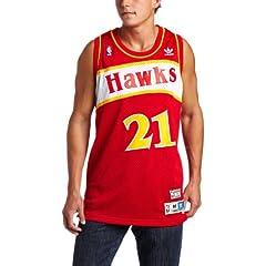 Atlanta Hawks #21 Dominique Wilkins NBA Soul Swingman Jersey, Red by adidas