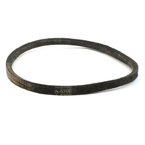 "Water & Wood A-570E 22 7/16"" Inner Girth V Type Rubber Transmission Belt for Washing Machine"