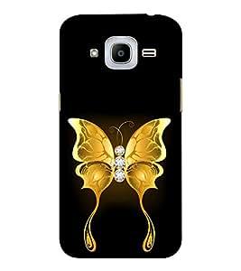 EPICCASE dwelling butterfly Mobile Back Case Cover For Samsung J2 2016 (Designer Case)