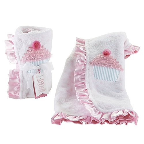 Baby Aspen Baby Cakes Blanket, White - 1