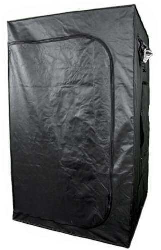 "Aviditi Ptu-75 Reflective Hydroponic Grow Tent With D-Zipper, 48"" Wide X 48"" Deep X 79"" High"