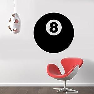 8 Ball Pool Billiard Removable Wall Sticker