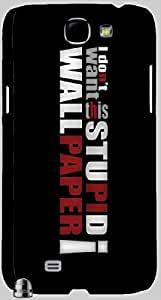 Marvelous multicolor printed protective REBEL mobile back cover for Samsung Galaxy Note II N7100 D.No.N-R-4197-N2