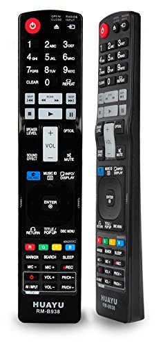 Blu-Ray DVD Player Remote Control for LG. New on the market. Universal for LG brand. Remote control replaces many original equipment LG Blu-Ray remotes. Some of Supported models: AKB72976002, AKB72976005, AKB73375501, AKB73775604, AKB72976001, AKB72976011 (Lg Blu Ray Remote compare prices)
