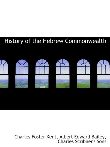 History of the Hebrew Commonwealth