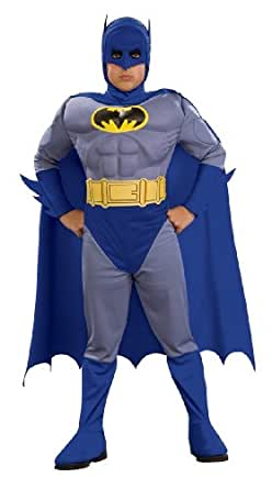 Batman Deluxe Muscle Chest Batman Child's Costume