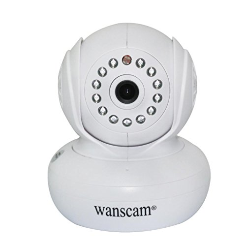 Generic Indoor Wi-Fi P2P Baby Monitor Ip Camera Pan Tilt Ir Distance 32.8 Feet 3.6Mm Lens Support Iphone 3G Phone Smartphone View White front-467025