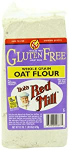 Bob's Red Mill Gluten Free Oat Flour, 22-Ounce Bags (Pack of 4)
