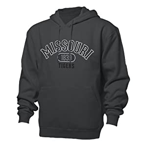 NCAA Missouri Tigers Mens Benchmark Hoodie by Ouray Sportswear