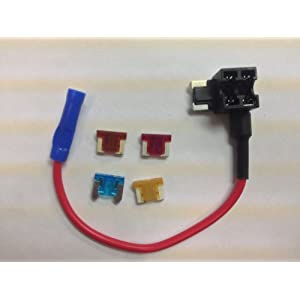 FAST Shipping! Mini Blade Fuse Tap Holder Add A Circuit Line Mini Low