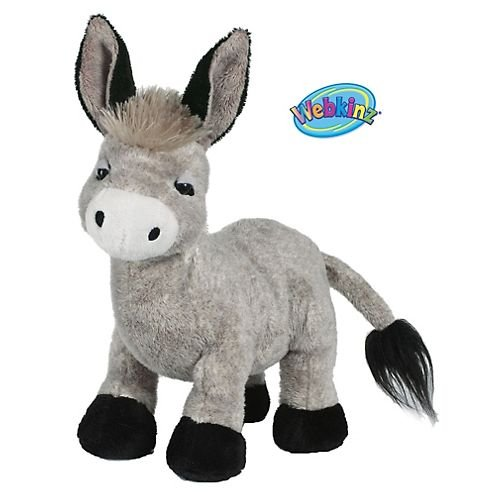 Webkinz Plush Stuffed Animal Donkey