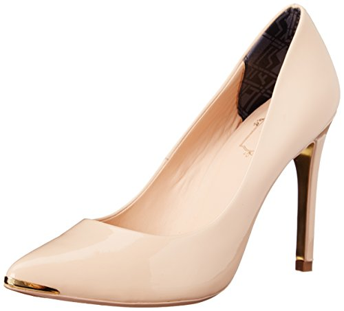 Ted Baker Women's Neevo 4 Dress Pump, Nude Patent, 5 M US