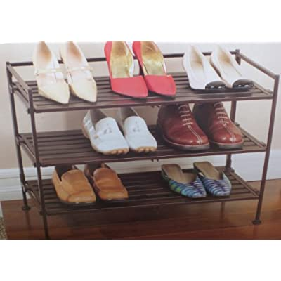 3-Tier Interlocking Storage & Shoe Rack