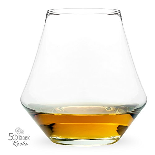 Whiskey Neat, Bourbon Rocks, Scotch with Stones, Old-Fashioned Cocktails - Perfect Glass for Any Drink - Free Mixologist Recipe Book - Set of 2, 12oz Tumblers - The Swiss Army Knife of Drinkware (Crystal Bourbon Glasses compare prices)