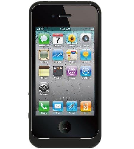 aigo iPhone4専用バッテリーケース i616 <37487>