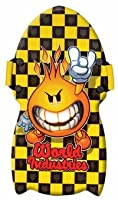 World Industries Flame Boy Checker Snow Boogie Sled by Kwik Tek