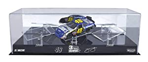 Mounted Memories Jimmie Johnson Three Time Champ Three-1:24 Scale Car Case by Mounted Memories