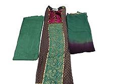 Alankar Textiles Panjabi Suit Piece Black Color Cotton Dress Material