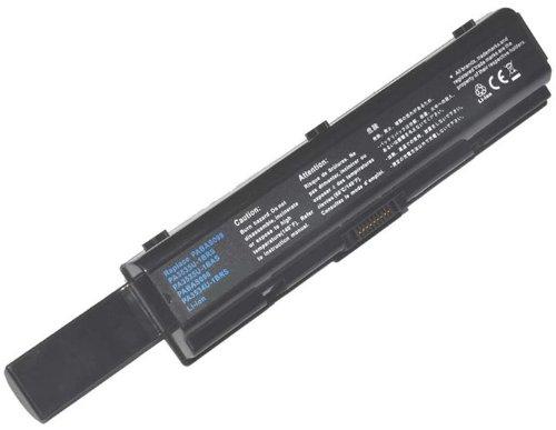 Akku für TOSHIBA SATELLITE L500-208 - 6600mAh | 10.8V | Li-ion (bei kostenlosem 8GB ISORNO USB-Stick)