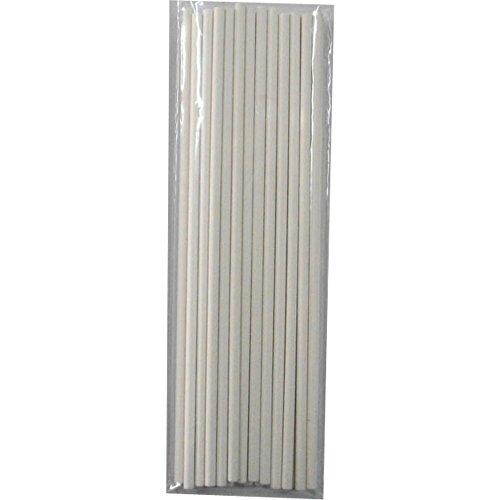 Ck Products Sucker Lollipop Sticks, 4-1/2 By 5/32-Inch, White, 100-Pack