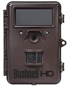 Bushnell 8MP Trophy Cam HD Max Black LED Trail Camera with Night Vision and 2.4-Inch Color LCD Viewer