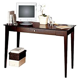Dolce Dark Walnut Desk