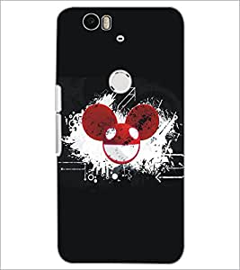 PrintDhaba Abstract Image D-5109 Back Case Cover for HUAWEI NEXUS 6P (Multi-Coloured)