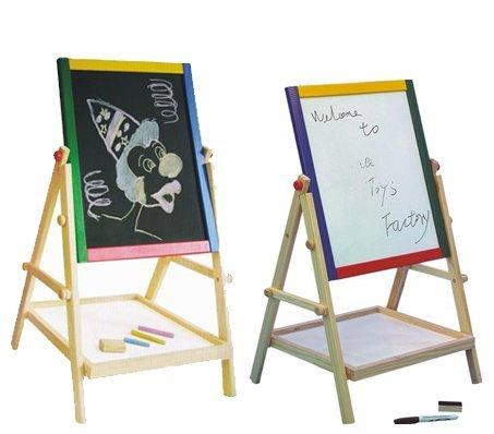 Generic-2-In-1-Wooden-Kids-Drawing-Blackboard-Whiteboard-Easel