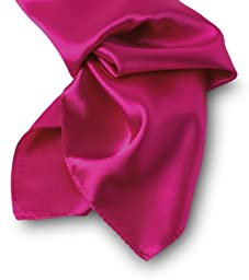 Pocket Square Silk - Fuchsia