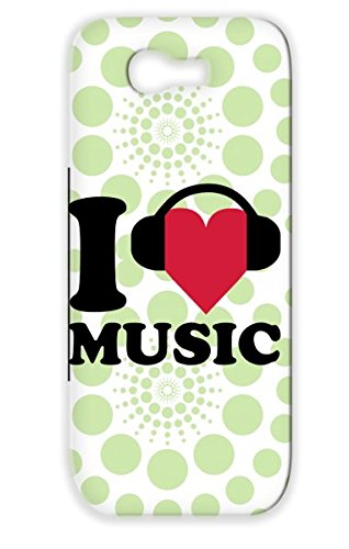 Disco Music Party Dance Electronica Love Electro Music Mixing Club I Heart Dj Headphones Red For Sumsang Galaxy Note 2 Dustproof Case Cover