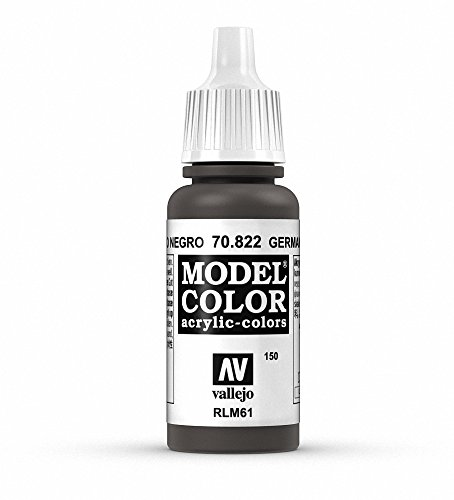 Vallejo German Camo Black Paint, 17ml