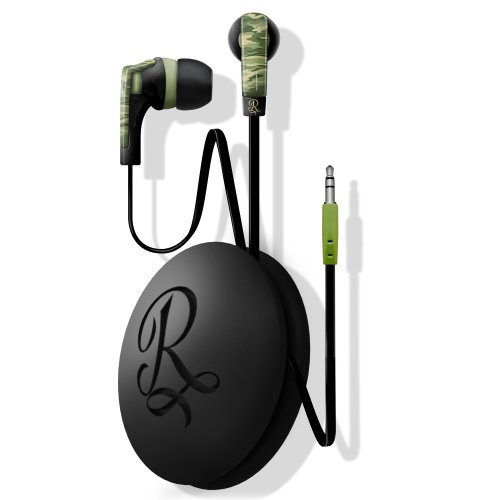 Ruthless Earbud With Cord Wrap- Green Camo (Eb5040-112)
