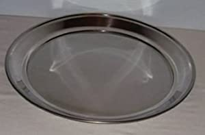Stainless Steel Pizza Pan - 14 Inch Diameter