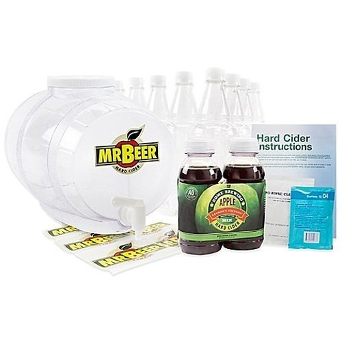Mr. Beer Hard Cider Home Brewing Craft Cider Kit (Cider Making Kit compare prices)