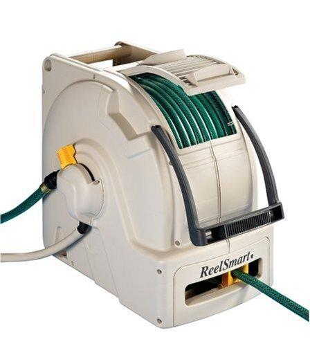 100' Water Powered Retractable Garden Hose Reel Cart #RS10003 (Reel