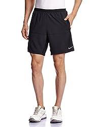 Nike Men's Polyester Shorts (888407348297_642808-010 _Small_Black)