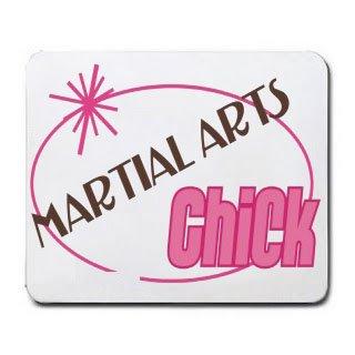 MARTIAL ARTS Chick Mousepad