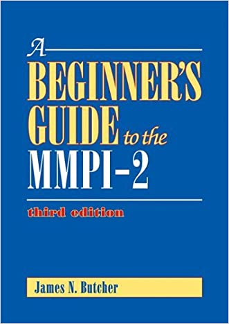 A Beginner's Guide to the MMPI-2 written by James Neal Butcher