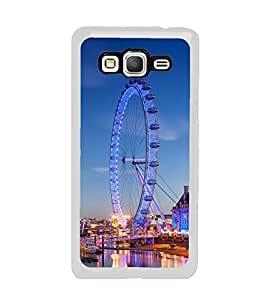 London Eye 2D Hard Polycarbonate Designer Back Case Cover for Samsung Galaxy Grand Prime :: Samsung Galaxy Grand Prime Duos :: Samsung Galaxy Grand Prime G530F G530FZ G530Y G530H G530FZ/DS