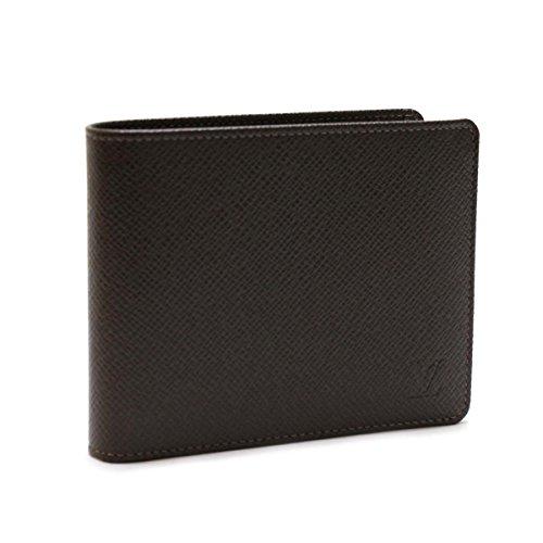 [ルイヴィトン] Louis Vuitton タイガ ポルトフォイユフロリン 二つ折り財布 グリズリ M31118【中古】