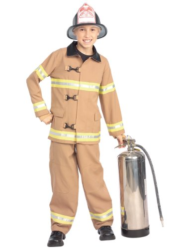 Firefighter Kids Costume