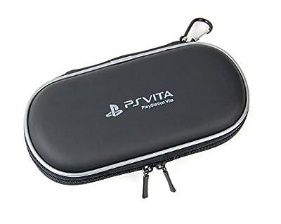 HEAD ZONE Black EVA hard Carry Case for PS Vita PlayStation Vita Slim from HEAD ZONE