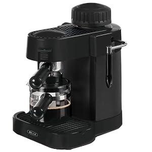 BELLA 13683 Espresso Maker, Black